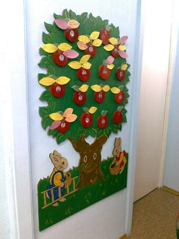 Экран добрых дел в детском саду