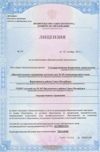Лицензия на обр.деятельность101